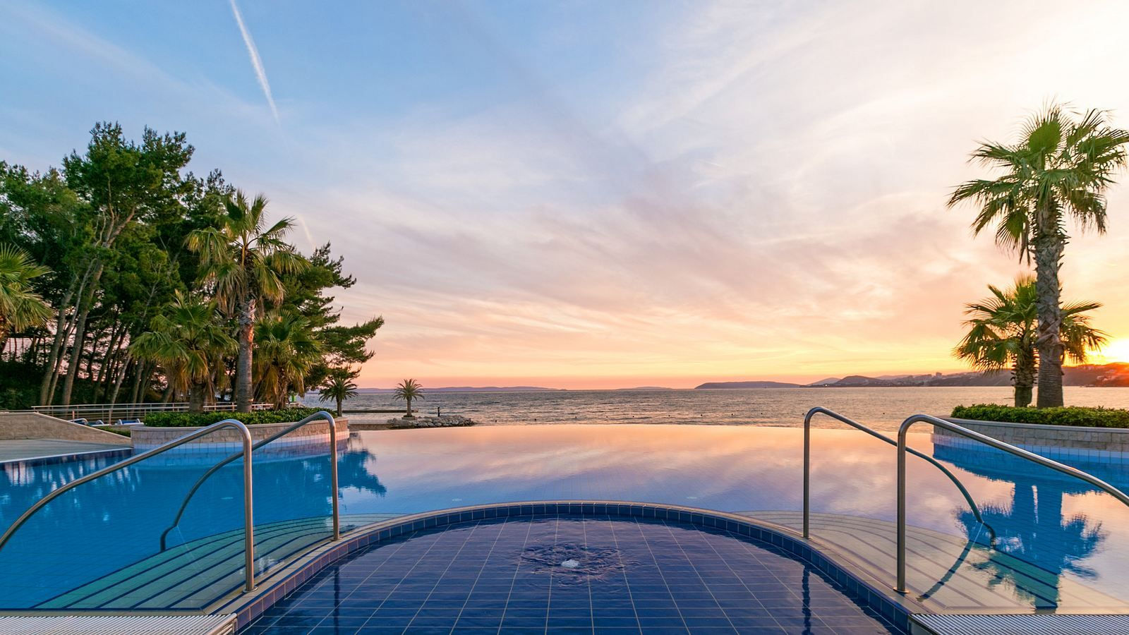 Take in the view at Infinity Pool